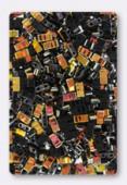 Miyuki Half Tila Beads HTL-4560 black marea x10g