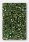 Miyuki Half Tila Beads HTL-0306 olive green gold luster x10g