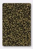 2mm Antiqued Brass Plated Crimp Beads x5gr