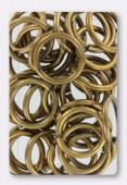 Anneau brisé 16 mm bronze x 6