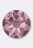 4mm Swarovski Crystal Hotfix Flatback Rhinestones 2038 SS16  Crystal antique Pink M HF x50