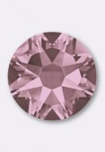 3mm Swarovski Crystal Hotfix Flatback Rhinestones 2038 SS10 Crystal Antique Pink M HF x50