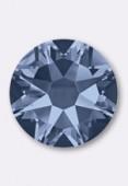7mm Austrian Crystals Hotfix Flatback Rhinestones 2038 SS34 Denim Blue  M HF x12