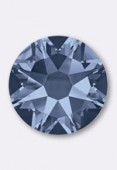 4mm Austrian Crystals Hotfix Flatback Rhinestones 2038 SS16  Denim Blue  M HF x50
