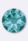 3mm Swarovski Crystal Hotfix Flatback Rhinestones 2038 SS10 Blue Zircon M HF x50