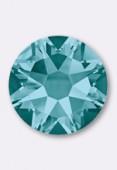 7mm Swarovski Crystal Hotfix Flatback Rhinestones 2038 SS34 Blue Zircon M HF x12
