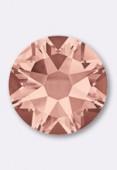 4mm Swarovski Crystal Hotfix Flatback Rhinestones 2078 SS16 Blush Rose SF HF x50