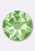 7mm Swarovski Crystal Hotfix Flatback Rhinestones 2038 SS34 Chrysolite M HF x12