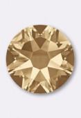 Strass HOTFIX 2078 SS16 4 mm crystal golden shadow M HF x50