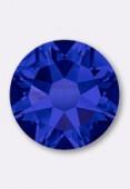 4mm Swarovski Crystal Hotfix Flatback Rhinestones 2038 SS16 Crystal Meridian Blue HF x50