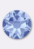 3mm Swarovski Crystal Hotfix Flatback Rhinestones 2038 SS10 Light Sapphire M HF x50