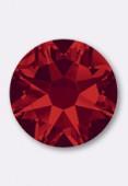 5mm Swarovski Crystal Hotfix Flatback Rhinestones 2038 SS20 Light Siam M HF x24