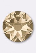 4mm Austrian Crystals Hotfix Flatback Rhinestones 2038 SS16 Light Silk M HF x50