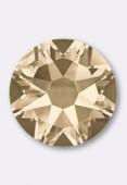 7mm Swarovski Crystal Hotfix Flatback Rhinestones 2038 SS34 Light Silk M HF x12
