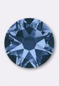 3mm Austrian Crystals Hotfix Flatback Rhinestones 2038 SS10 Montana M HF x50