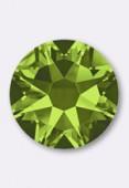 4mm Austrian Crystals Hotfix Flatback Rhinestones 2038 SS16 Olivine M HF x50
