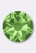 3mm Swarovski Crystal Flatback Rhinestones 2058 Peridot F x1440