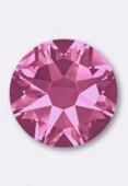 7mm Swarovski Crystal Hotfix Flatback Rhinestones 2038 SS34 Pink M HF x12