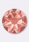 4mm Swarovski Crystal Hotfix Flatback Rhinestones 2038 SS16 Rose Peach M HF x50