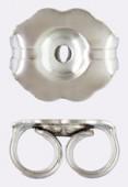 .925 Sterling Silver Earrings Back x50