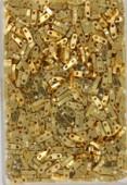 Miyuki Quarter Tila Beads QTL-0191 24Kt gold plated x5g