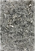 Miyuki QuarterTila Beads QTL-0194 palladium plated x5g