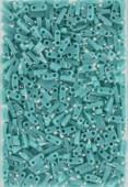 Miyuki QuarterTila Beads QTL-0412 opaque turquoise green x10g