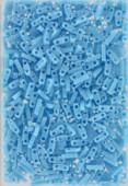 Miyuki QuarterTila Beads QTL-0413 opaque turquoise blue x10g