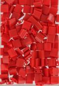 Miyuki Tila Beads TL-0408 opaque red x10g