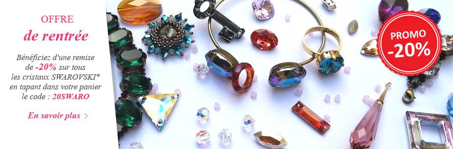 -20% sur tous les cristaux SWAROVSKI* !